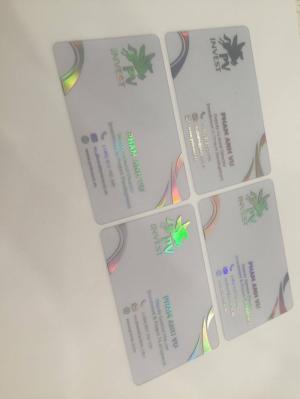 In name card trong suốt số lượng nhỏ - lớn theo yêu cầu - giá rẻ