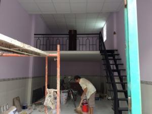 Nhà gác lửng hẻm 3m PTH F.7 Q.8 diện tích 5,3x11 giá 1,7 tỷ sổ hồng