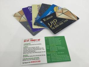 Thiết kế, in ấn các loại thẻ nhựa giữ xe