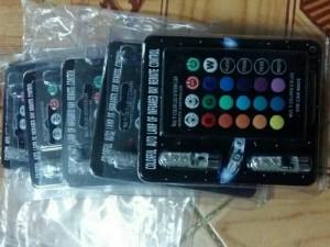 Led demi 7 màu có remote