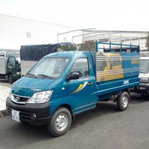 Xe tải 990kg thaco towner trường hải 990kg, xe mới 2017, trang bị máy lạnh cabin, giá hấp dẫn