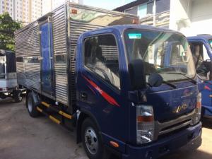 Xe tải jac 3 tấn 4 thùng mui bạt máy ISUZU
