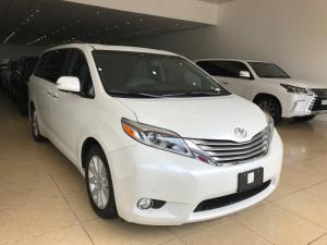 Bán Toyota Sienna 3.5 Limited màu trắng sản xuất 2017 mới 100% giao xe ngay