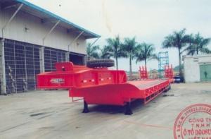 Sơ mi rơ moóc tải (chở xe, máy chuyên dùng)chở xe,máy công trình,sàn 8m,pooc lùn 16m(DOOSUNG DS-LBKS-330HDL-1)giá 600.000.000TR.