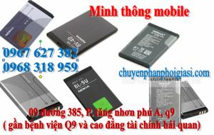 bán pin điện thoại samsung, nokia, sky, qmobile, htc, lenovo, iphone, ipad quận 9, thủ đức, quận 2, tphcm
