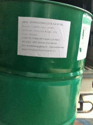 Mua bán MonoEthylene Glycol, MEG, Ethylene Glycol, EG, dung môi công nghiệp,