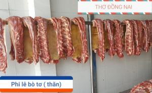 Thịt Phi lê bò tơ( thăn ngoại)