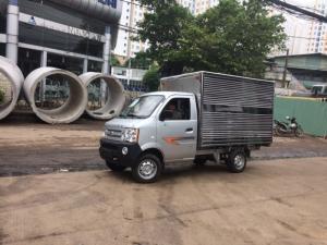 Xe tải DongBen 780 kg thùng dài 2m5 động cơ mỹ trả góp siêu thấp