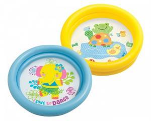 Bể bơi phao mini INTEX đáy bể họa tiết ngộ nghĩnh Tiện dụng, an toàn khi cho bé vui chơi, không gây kích ứng da.
