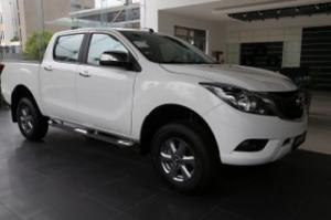 Bán xe ô tô Bán tải Mazda BT-50 2.2L MT 2017, màu trắng