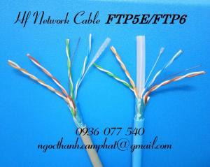 cáp mạng FTP cat5e, FTP cat6, phân phối cáp mạng