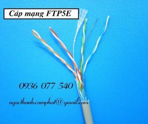 Cáp mạng FTP CAT5E, phân phối cáp mạng