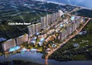 Cần bán lô đất biệt thự view sông-mặt tiền đường 20.5m
