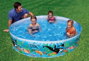 Bể bơi có thể sử dụng được luôn mà không cần bơm hơi