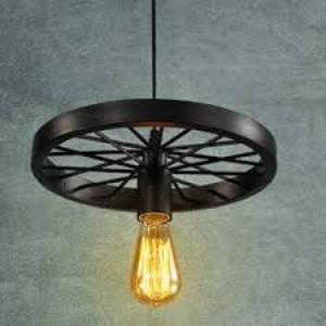 Đèn thả bánh xe đơn,đèn áp trần ,đèn phòng ăn