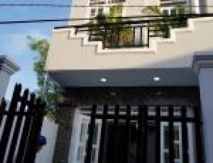 Bán nhà hẻm 1982 đường Huỳnh Tấn Phát Nhà Bè, diện tích 4x14m, 1 lầu, 2PN, Giá 1.85 tỷ