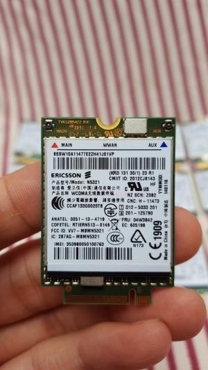 Card wwan 3G Lenovo thinkpad N5321 N5321GW