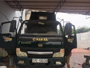 Cần bán xe tải ben Hoa Mai 1,8 tấn đời 2014...