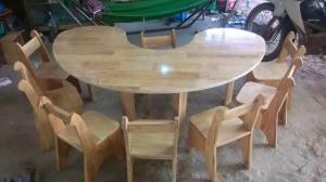 Bàn mầm non, nhiều loại bàn composite nhập khẩu và giảm giá