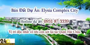 bán đất dự án Elysia Complex City