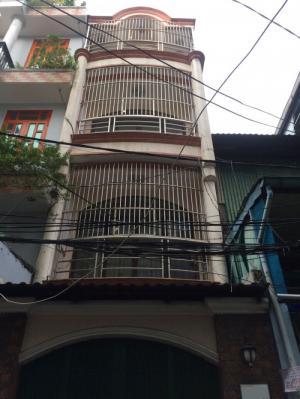 Bán nhà 3 lầu, 3,4x13m hẻm 5m Lãnh Binh Thăng, P13, Quận 11. Giá 4,68 tỷ