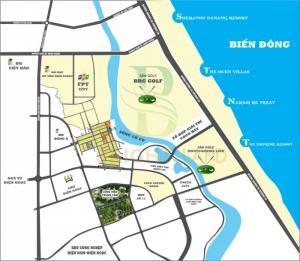 Lô biệt thự ven sông Cổ Cò 666tr/171m2 đường 17m5.