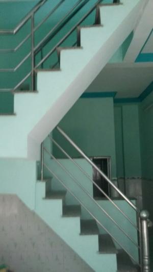 Nhà nhỏ xinh 2PN, 2WC, phòng khách, bếp, Bến xe buýt Thới An, giá 720 tr