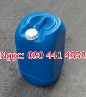 Can 25 lít xanh trắng  Mẫu 25.2  Kích thước: 278 x 278 x 468 (mm)  NL: nhựa HDPE  TL: .1,4kg  Màu xanh, trắng