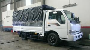 Bán xe tải thaco 2.4 tấn kia k165 giá rẻ tại hải phòng