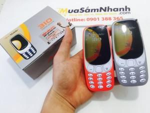 Điện thoại Smobile 3310 hỗ trợ game java kinh điển để bạn thoải mái tải game và giải trí ấn tượng.