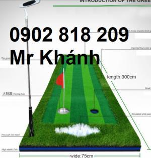 Putting green, thảm gạt golf mút xốp cao cấp