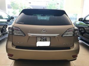 Bán Lexus RX350 model 2010 xe nhập Mỹ siêu đẹp màu vàng nội thất kem