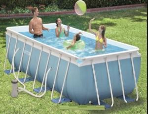 Bể bơi khung kim loại chịu lực 4m kèm máy lọc INTEX - 28316