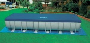 Bể bơi lắp ghép di động khung kim loại chịu lực loại lớn