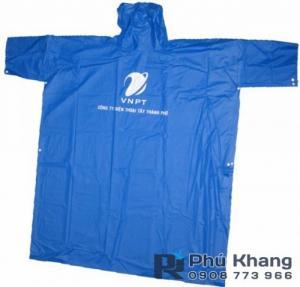 Sản xuất áo mưa cánh dơi, áo mưa quảng cáo, áo mưa nhựa giá rẻ