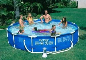 Bể bơi khung kim loại tròn 457*107cm INTEX - 28234