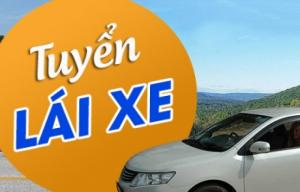 Tuyển Gấp Lái xe khu vực nội thành Hà Nội