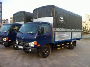 Xe Hyundai 2T5, hổ trợ các tỉnh