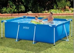 Bể bơi khung kim loại hình chữ nhật INTEX - 28272