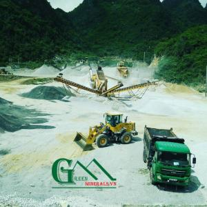 bãi sản xuất cát nhân tạo