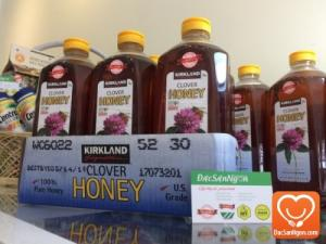 Mật ong Clover Honey 2.27kg USA - Kirkland