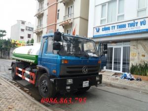 Xe nước rửa đường 9 khối giá rẻ
