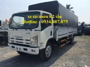 Bán xe tải isuzu 8.2 tấn - 8t2 - 8,2 tấn nâng tải - xe tải isuzu vm 8.2 tấn (8t2) thùng dài 7.1m