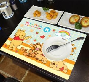 Combo 2 tấm lót bàn ăn hoạt hình dễ thương
