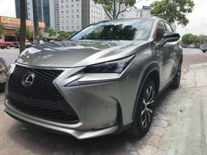 Lexus nx200t fsport màu xám bạc