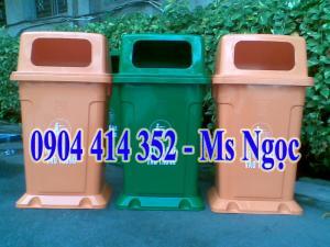 Thùng rác 95 lít