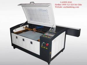 MÁy Laser 640 cắt da, simili làm đế giày, dép giá siêu rẻ