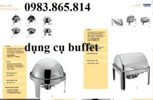 Dụng cụ hâm nóng buffet, bình nước hoa quả, đồ dùng buffet nhà hàng,