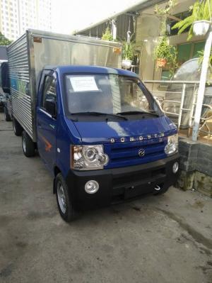 Cần bán xe Dongben thùng kín 770kg, hỗ trợ 80% vốn, xe có sẵn giao ngay.