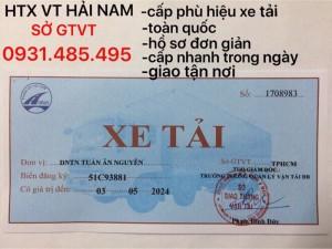 Phù hiệu xe tải , xe hợp đồng , xe đầu kéo ở Đà Nẵng và Quảng Trị